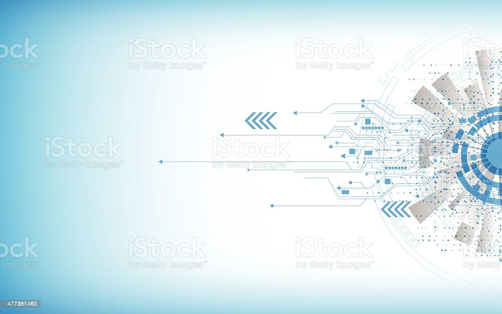 vector background abstract technology innovation concept vector art illustration