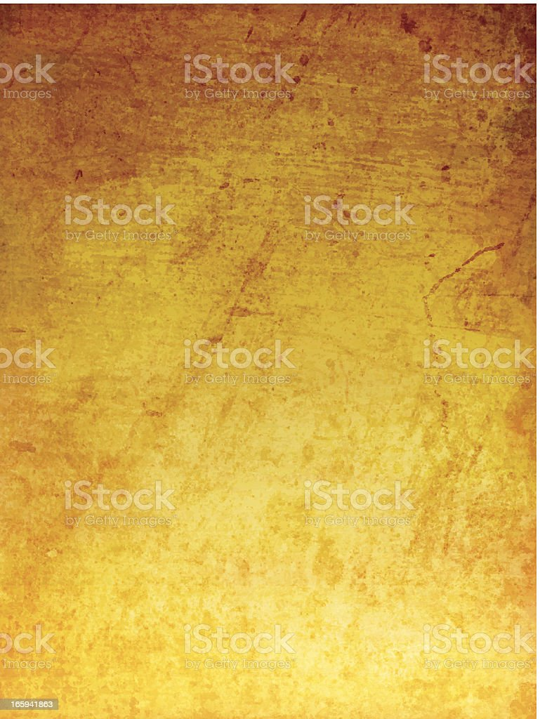 A vector background design of an orange grungy glow royalty-free stock vector art