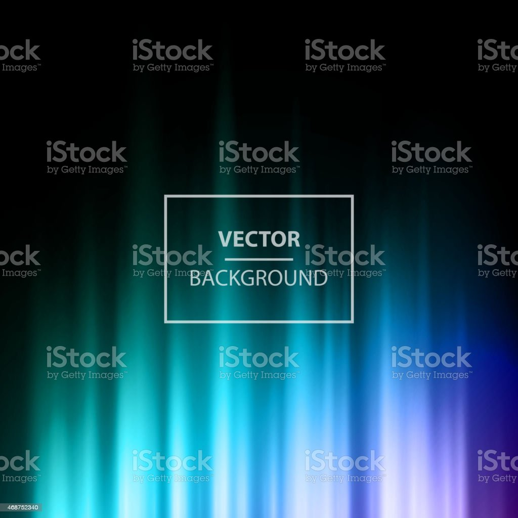 Vector background image with black purple and teal vector art illustration