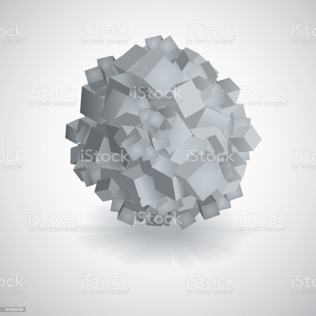 3D vector background royalty-free stock vector art