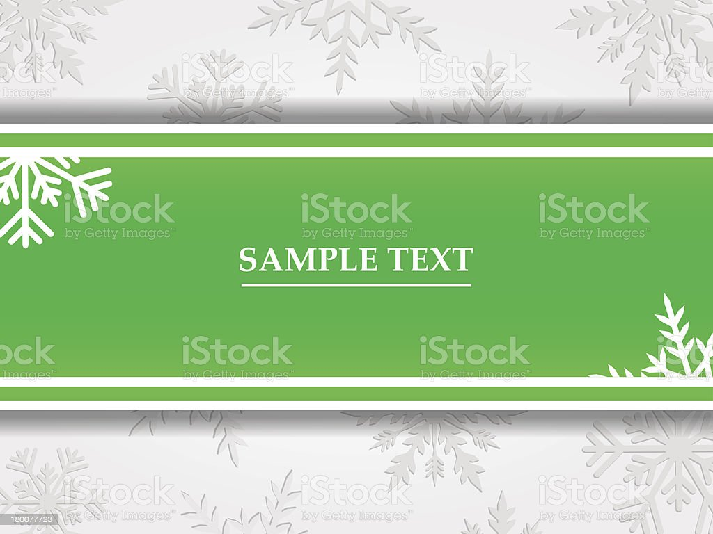 Vector background with winter theme. royalty-free stock vector art