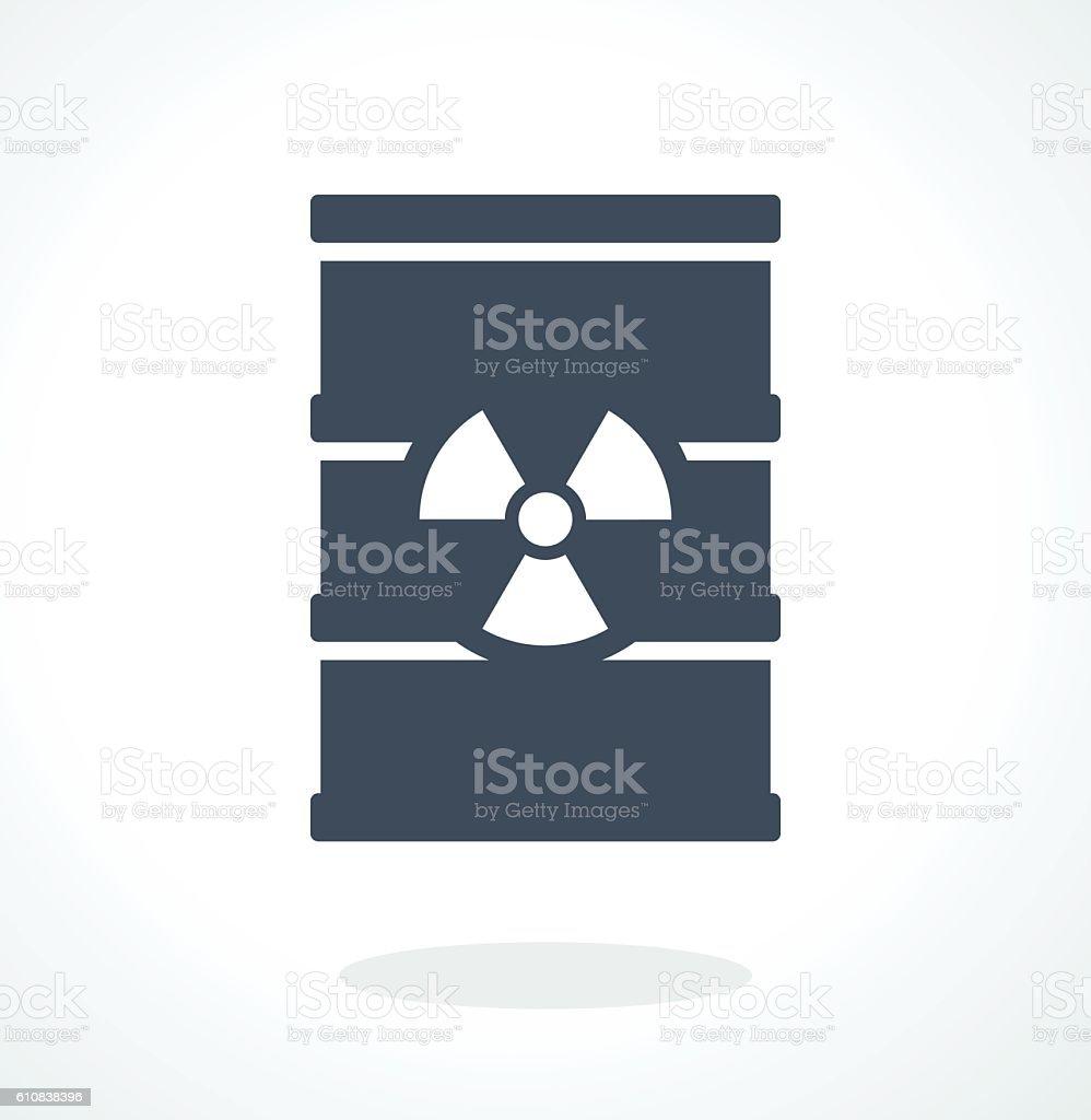 vector barrel icon vector art illustration