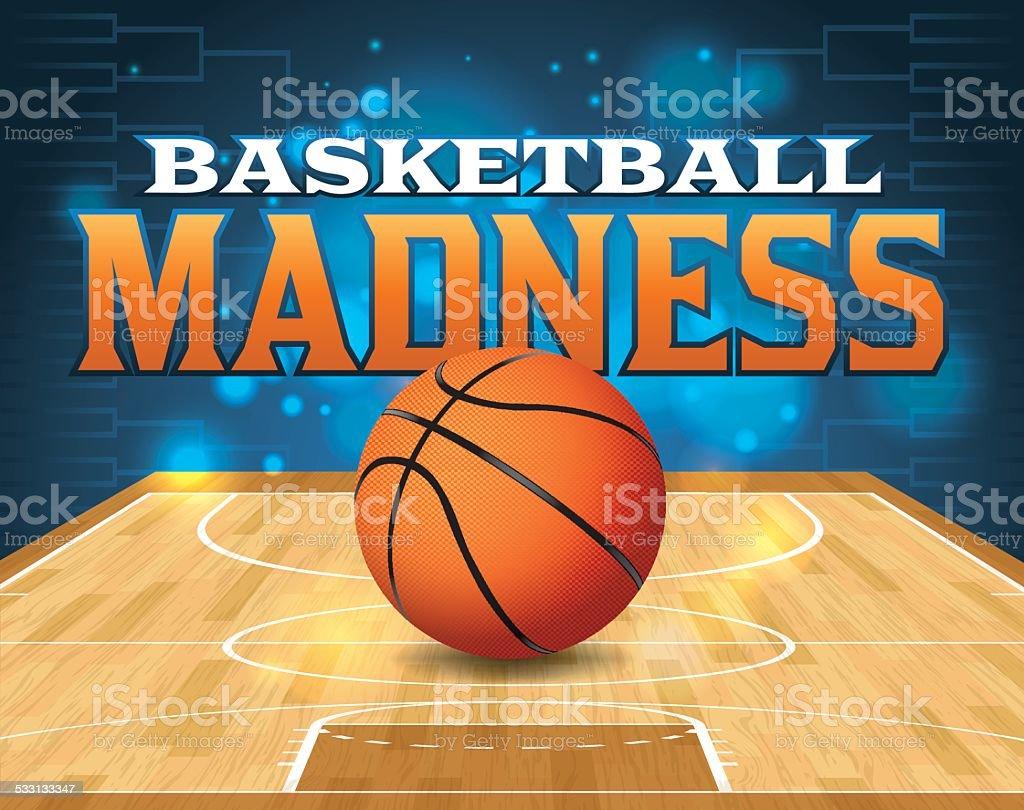 Vector Basketball Tournament Illustration vector art illustration