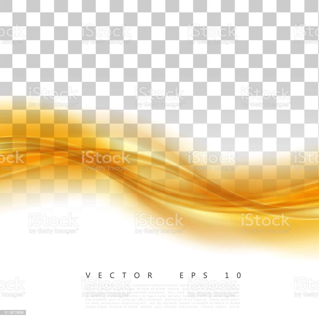 Vector Beautiful Gold Satin vector art illustration