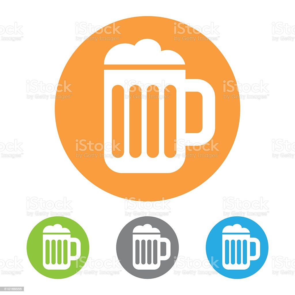 Vector Beer icon stock photo