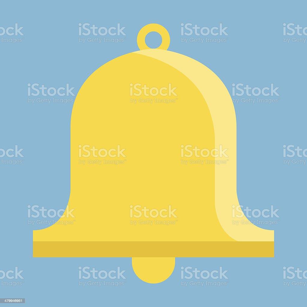 Vector Bell Icon vector art illustration