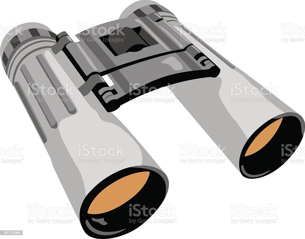 Vector binocular royalty-free stock vector art