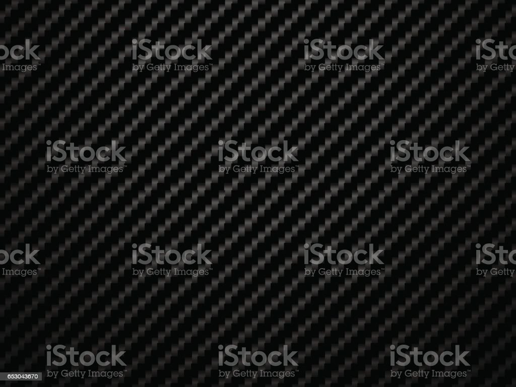 Vector black carbon fiber volume background vector art illustration