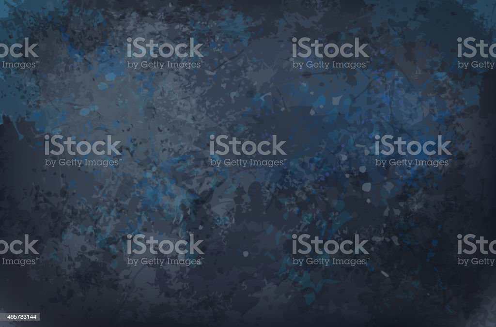 Vector black grunge texture background. vector art illustration