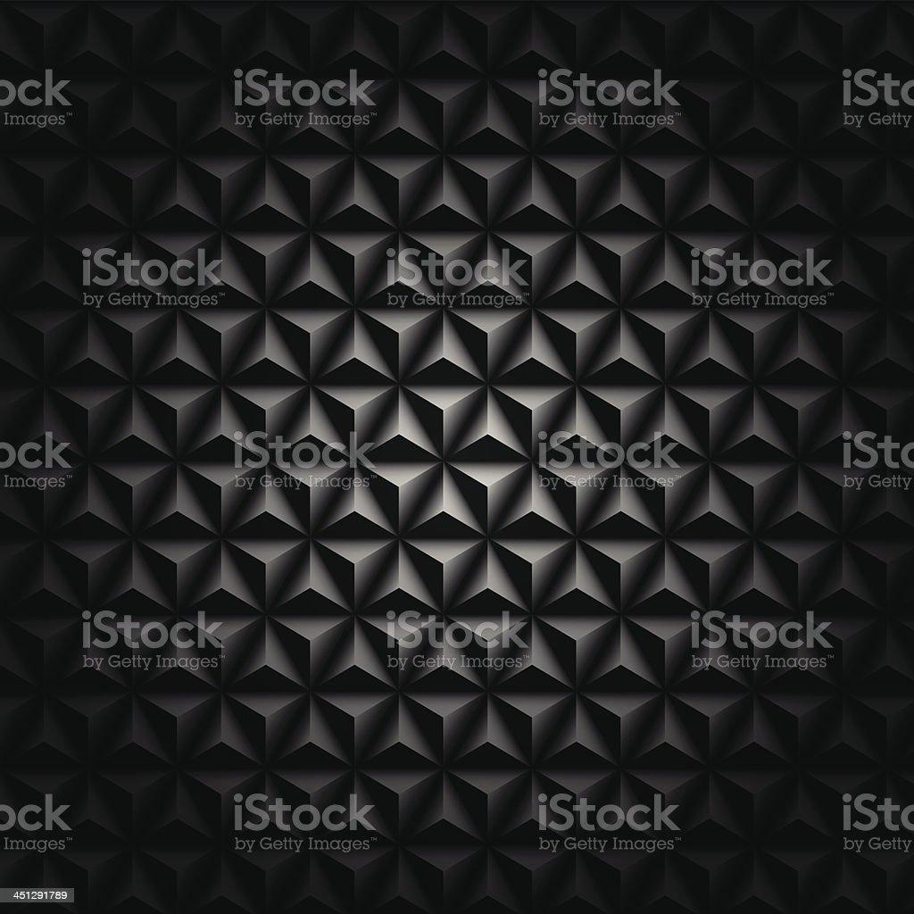 Vector black mosaic background royalty-free stock vector art