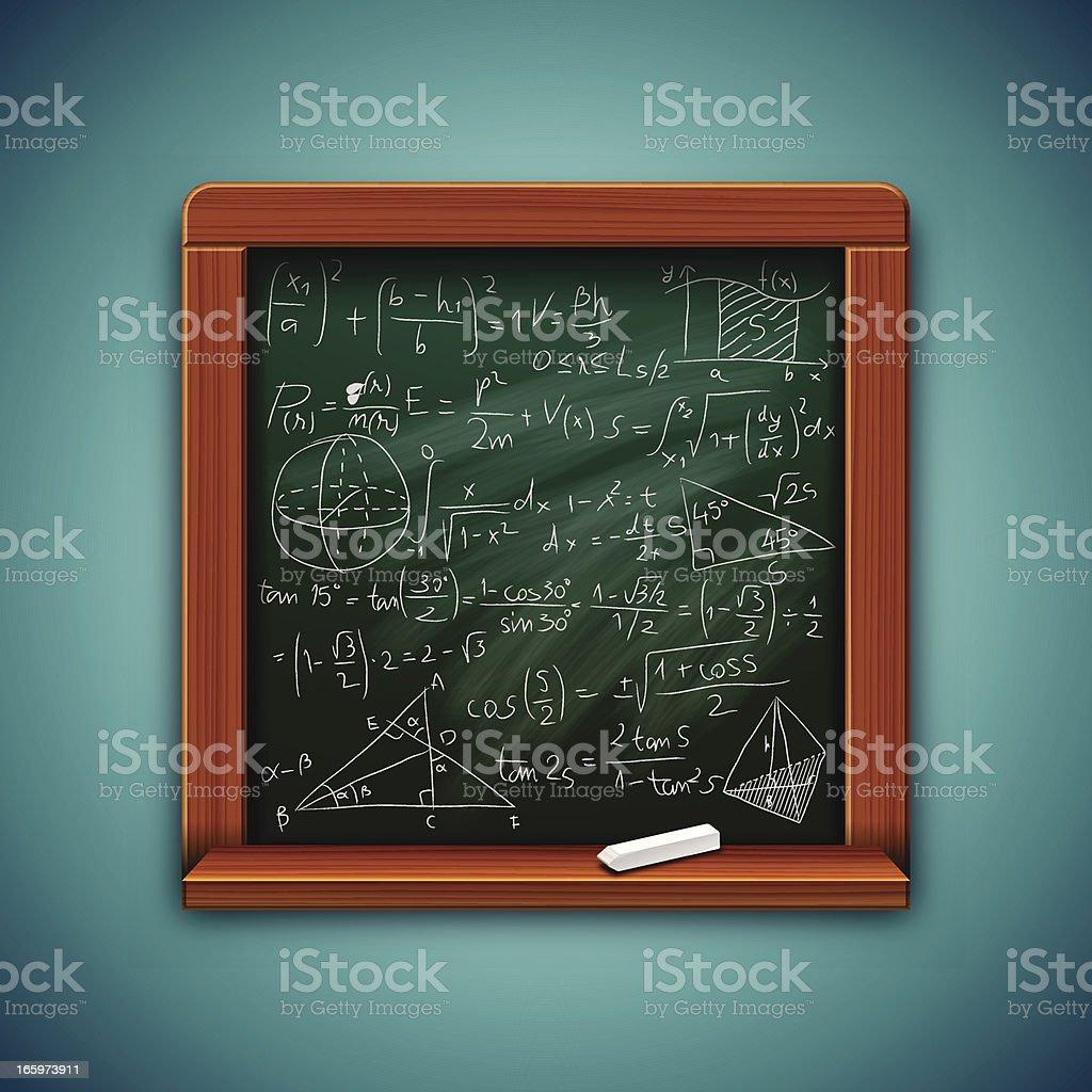 Vector Blackboard royalty-free stock vector art