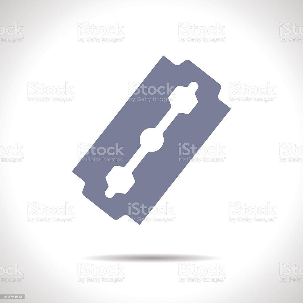 Vector blade icon. Eps10 vector art illustration