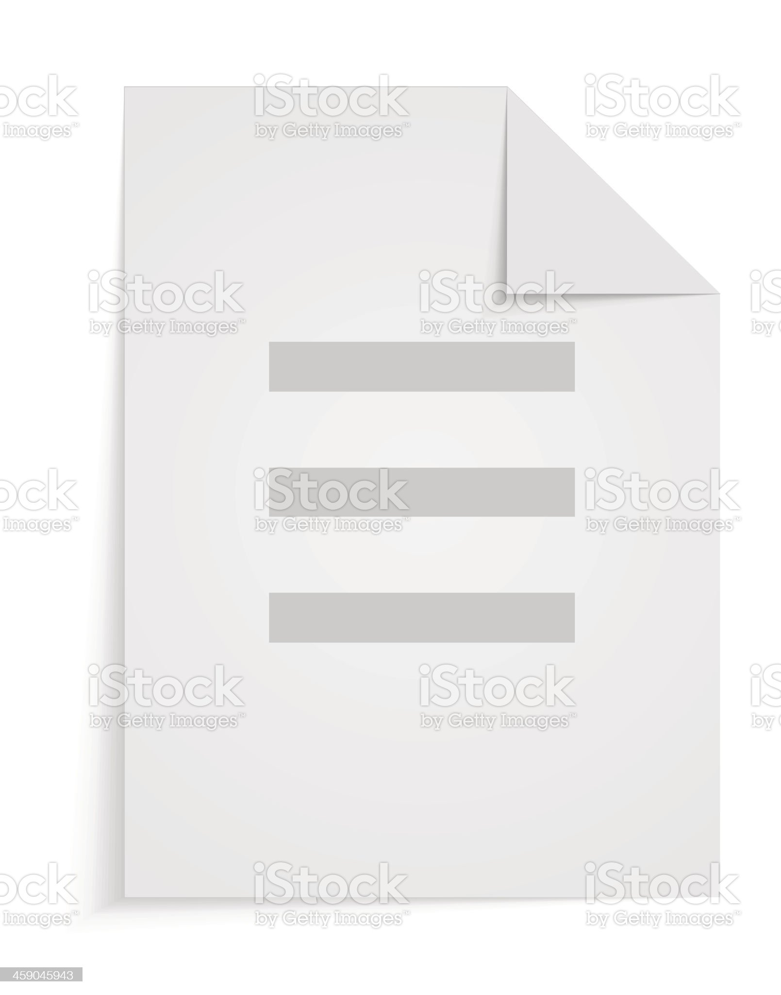 Vector blank on white background. Eps 10 royalty-free stock vector art