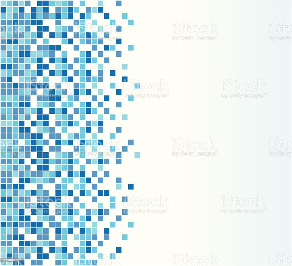 Vector blue background vector art illustration