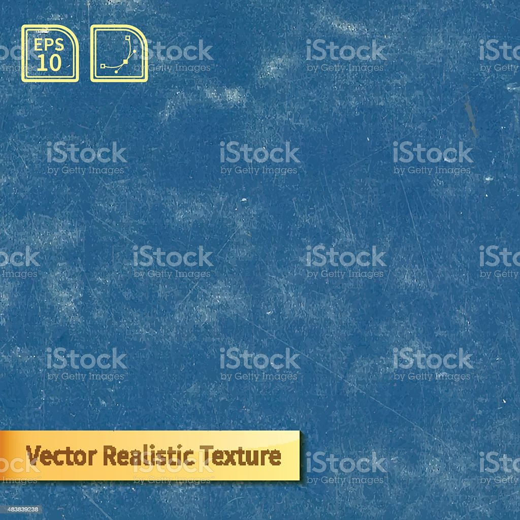 Vector blue chalkboard texture vector art illustration