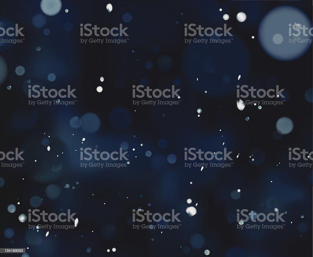 Vector Blue Defocus Light stock photo