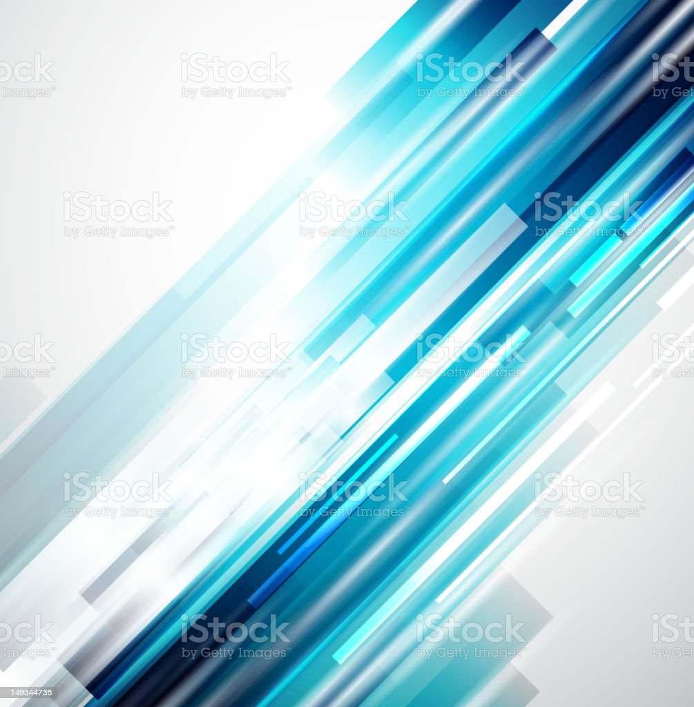 Vector blue lights background royalty-free stock vector art