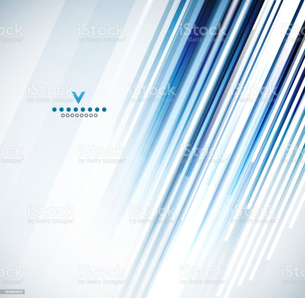 Vector blue lines background royalty-free stock vector art