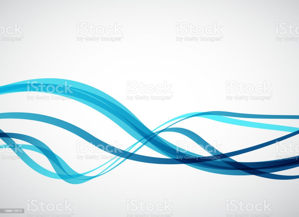 Vector blue motion line background royalty-free stock vector art