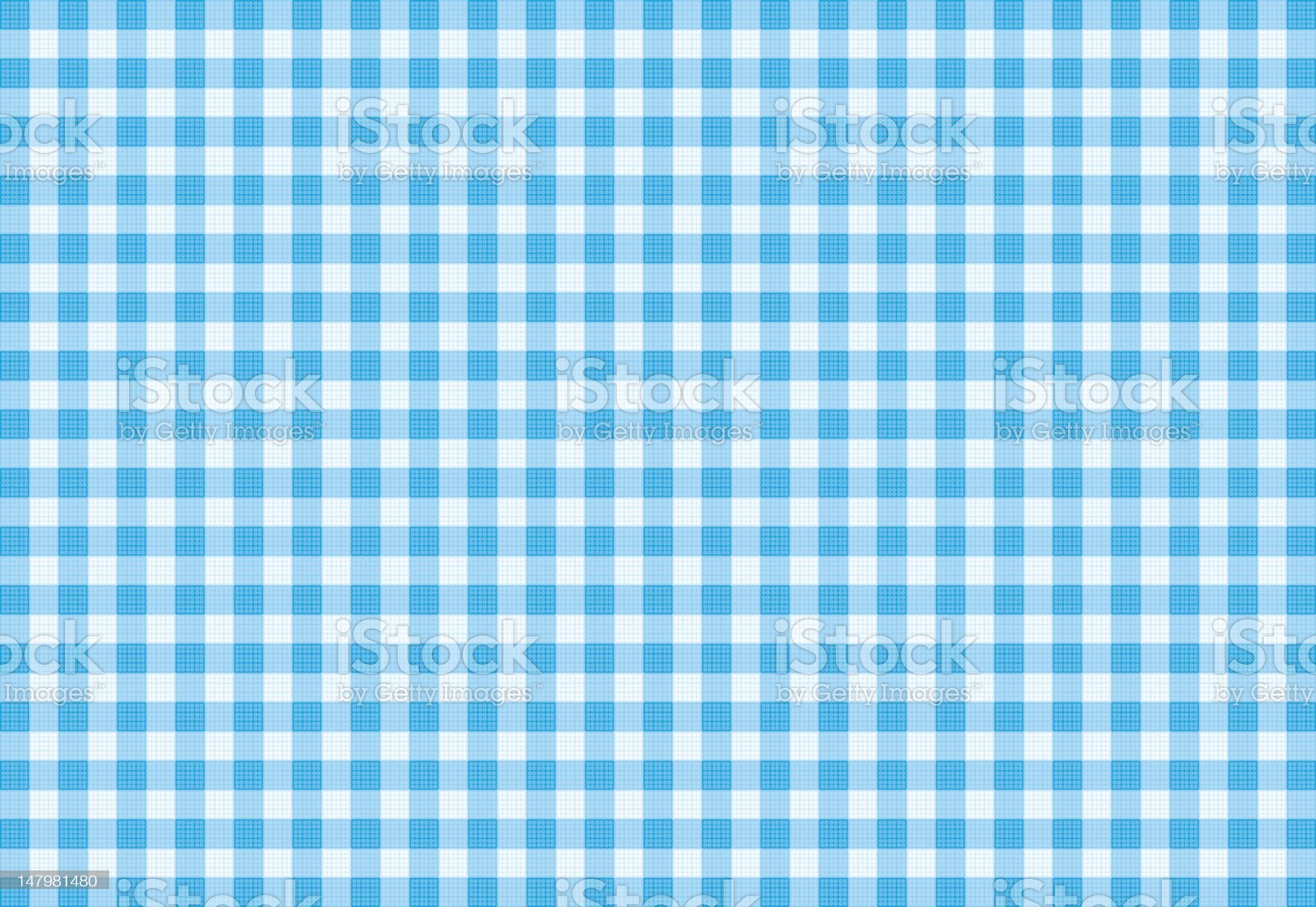 Vector Blue Plaid Fabric background textured royalty-free stock vector art