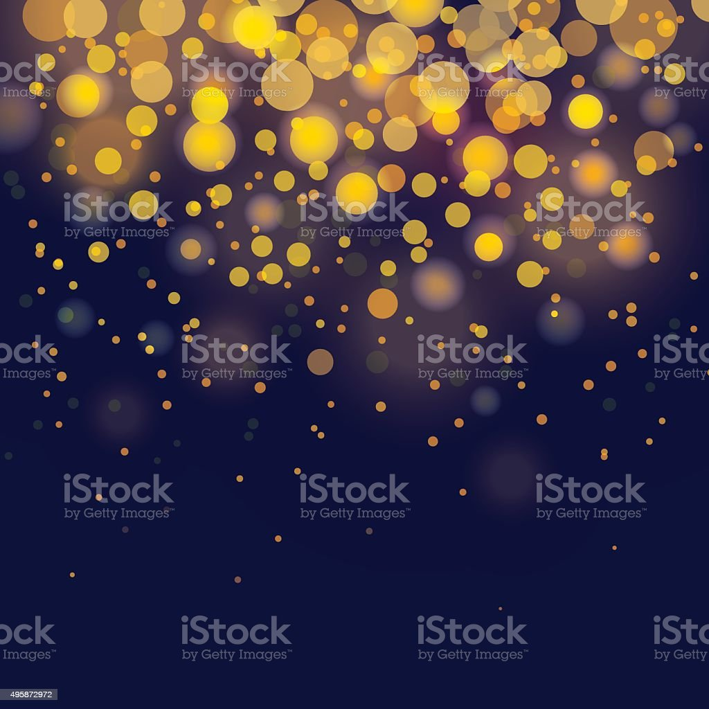 vector bokeh Festive background vector art illustration