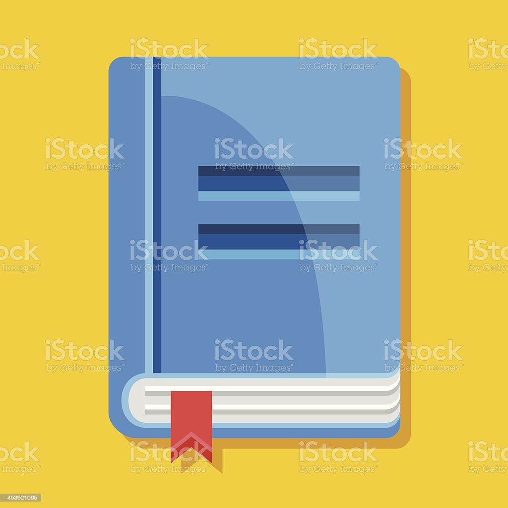 Vector Book Icon royalty-free stock vector art