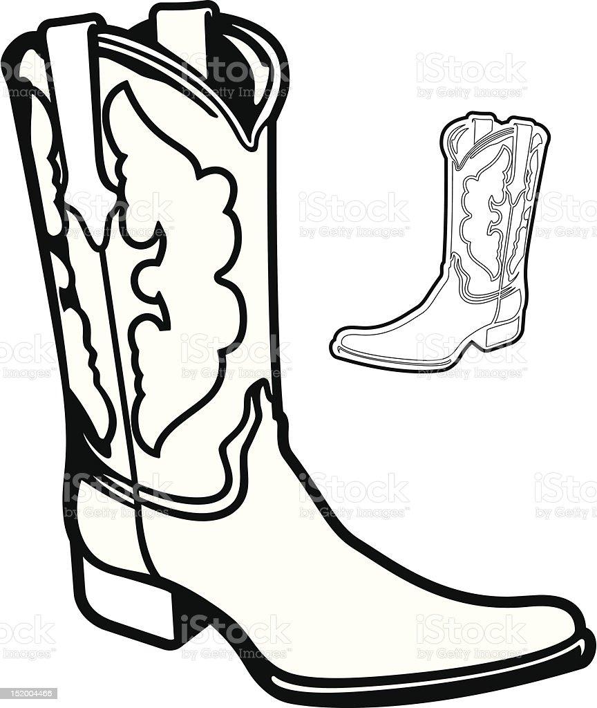 Vector Boot royalty-free stock vector art