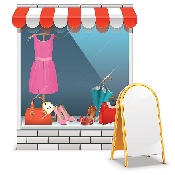 Clothing Store Clip Art, Vector Images & Illustrations ...