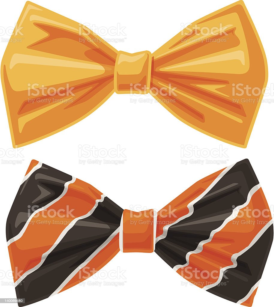 Vector Bow Ties royalty-free stock vector art