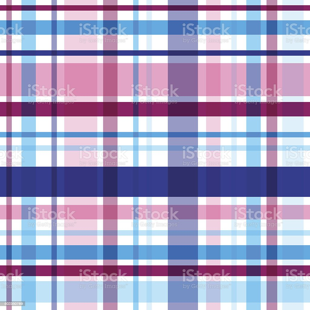 Vector bright plaid seamless pattern. Eps10 royalty-free stock vector art