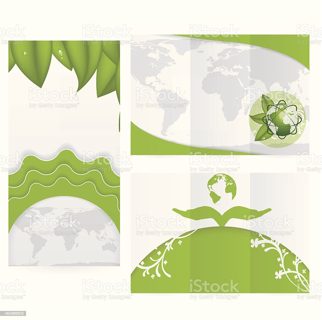 Vector Brochure Layout Design Template royalty-free stock vector art