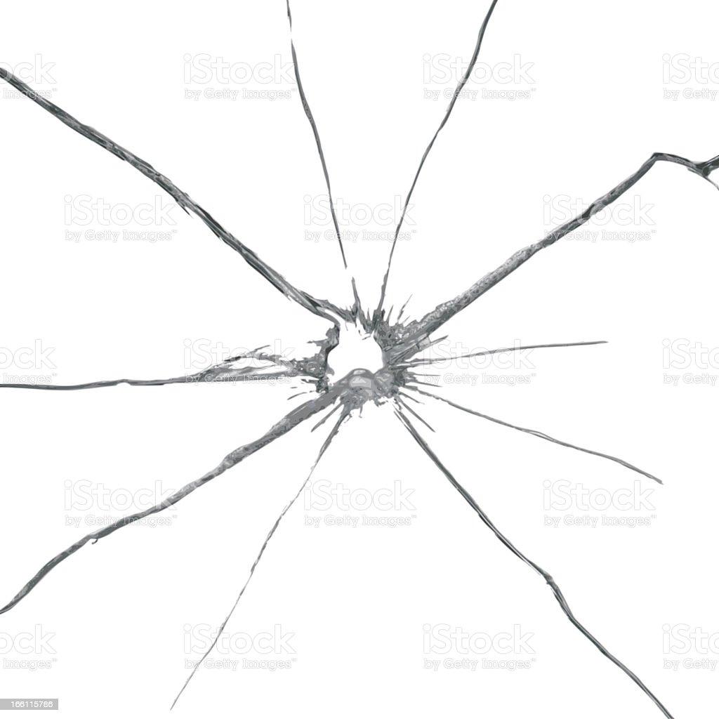 vector broken glass background vector art illustration