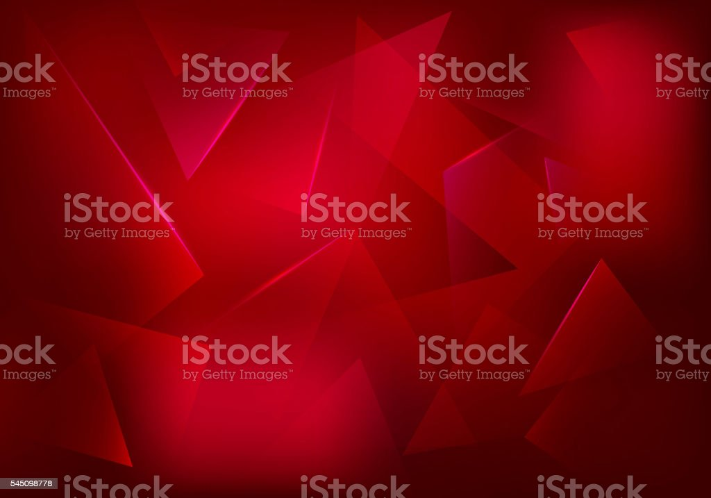 Vector Broken Glass Ruby Background vector art illustration