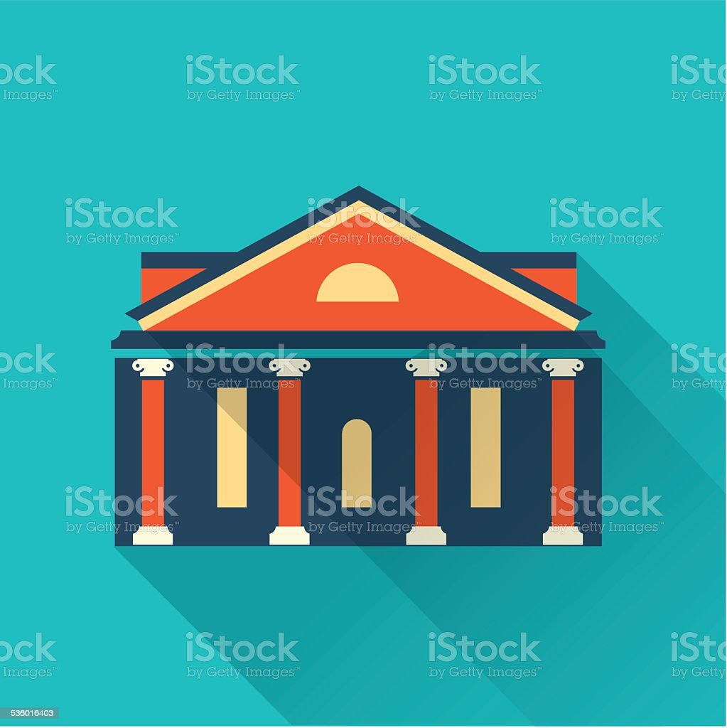 vector building house vector art illustration