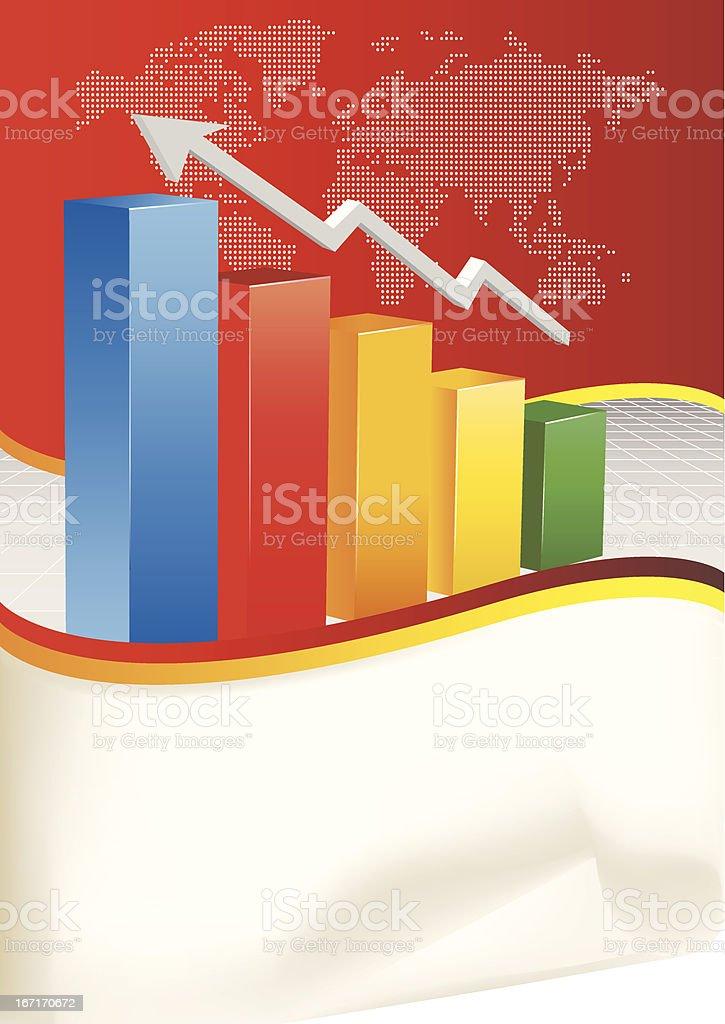 Vector Business Chart royalty-free stock vector art