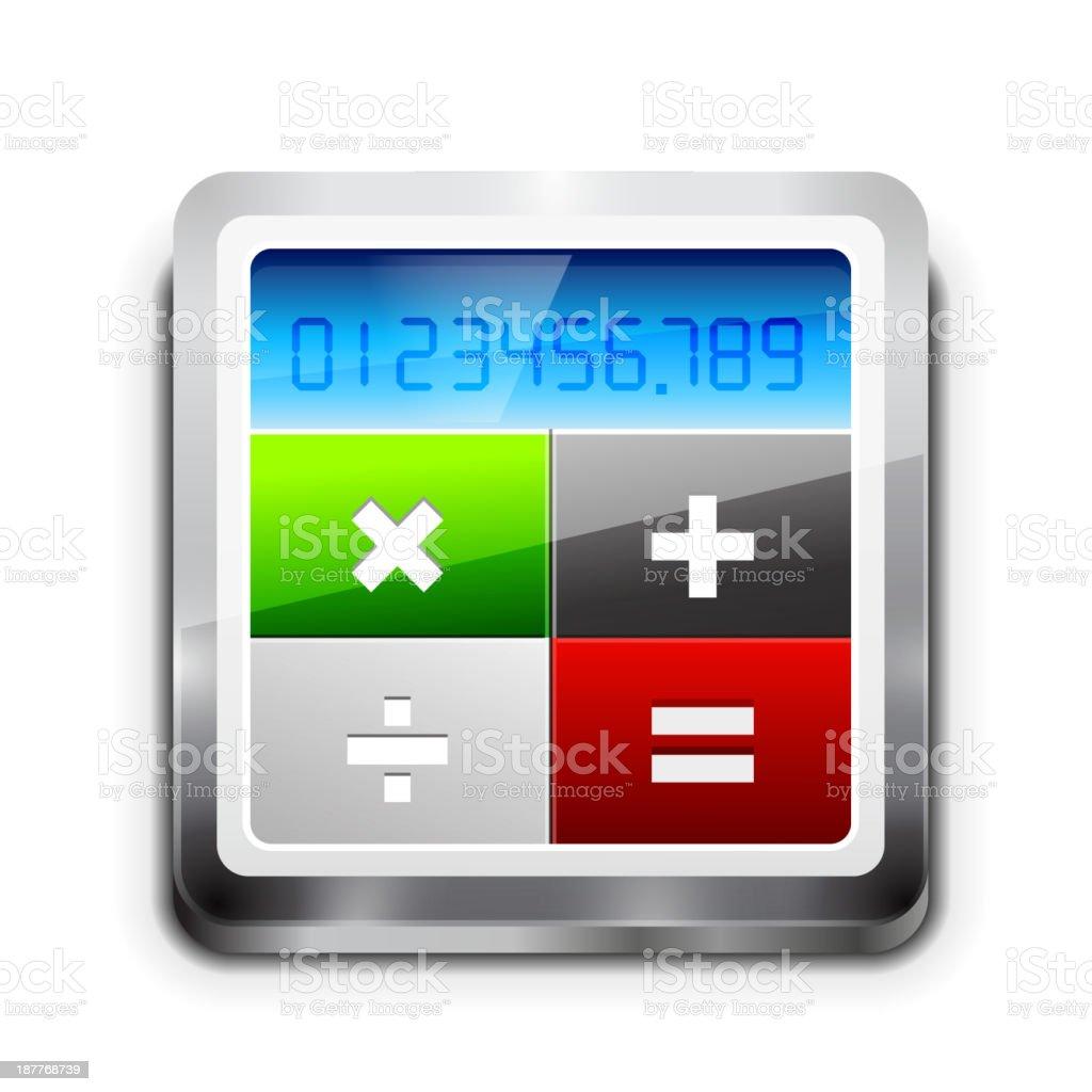 Vector calculator icon royalty-free stock vector art