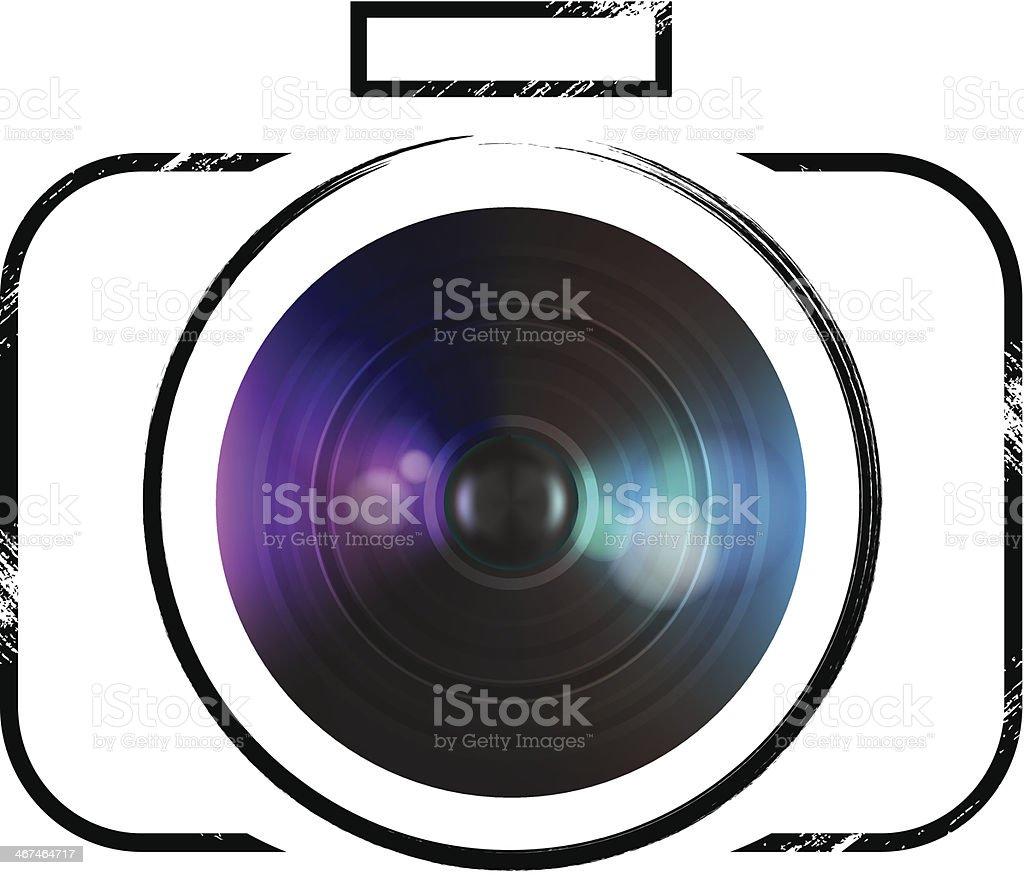 Vector camera icon royalty-free stock vector art