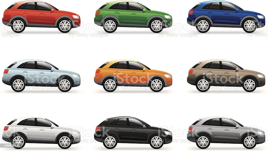 Vector Car royalty-free stock vector art