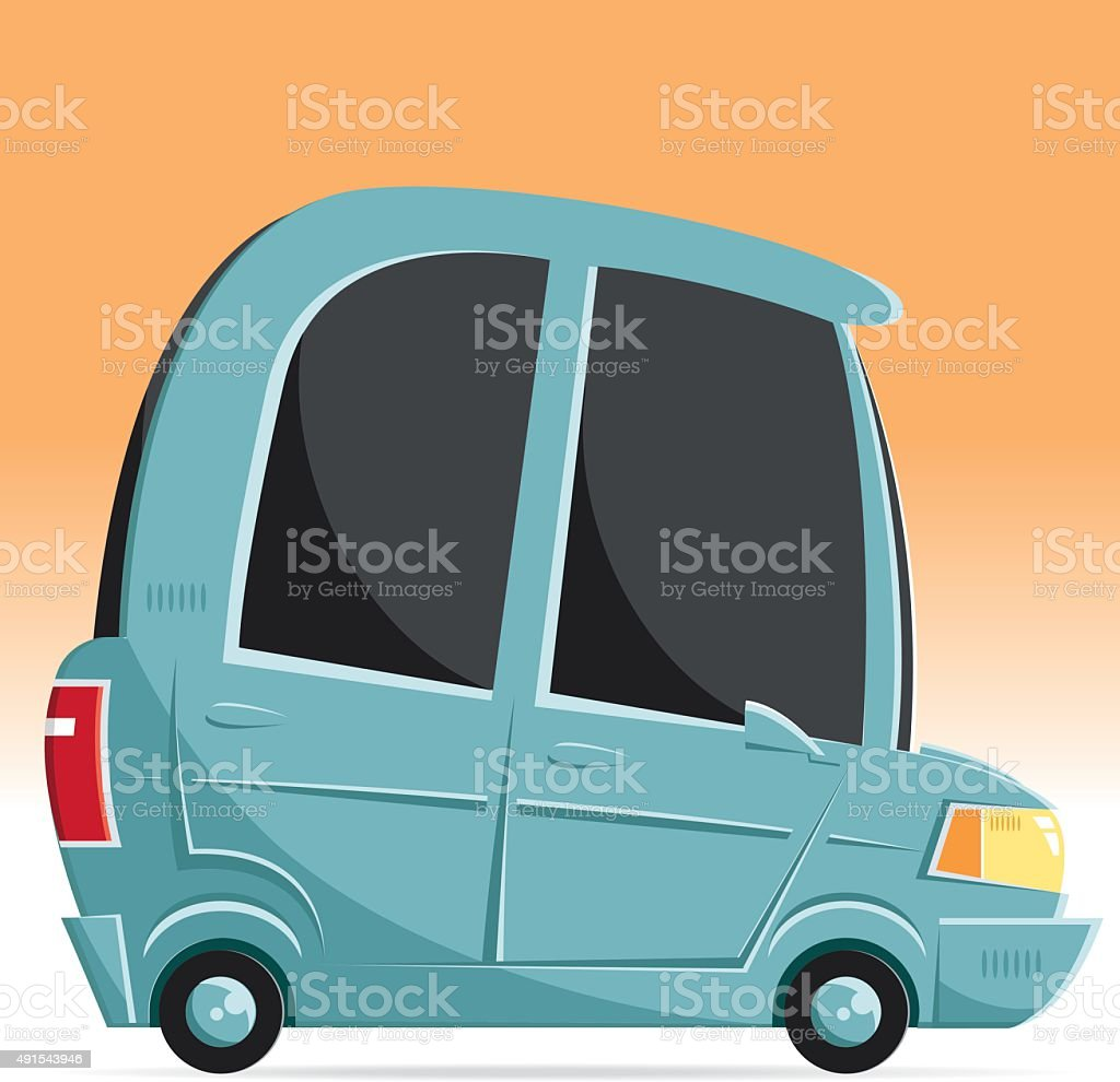 vector car vector art illustration