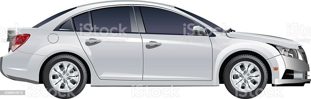 Vector car vector art illustration