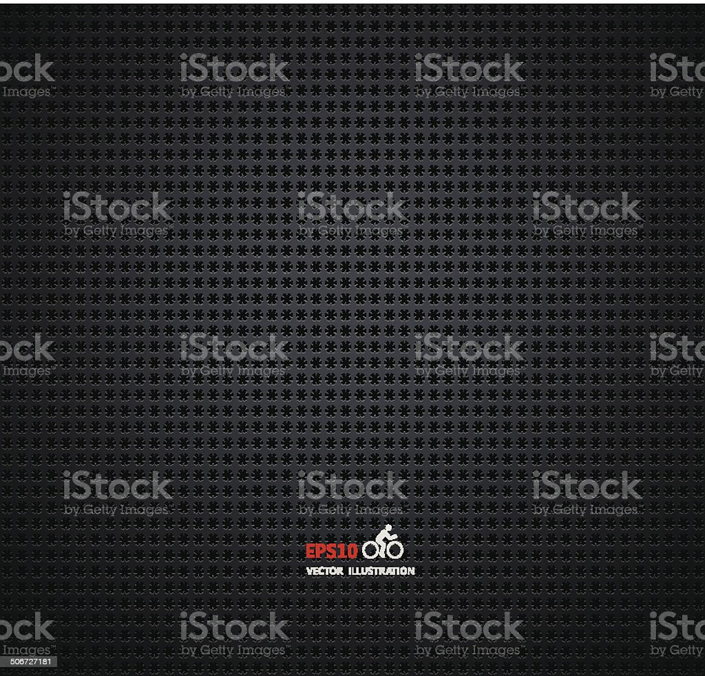 Vector carbon fiber and dark grey background royalty-free stock vector art