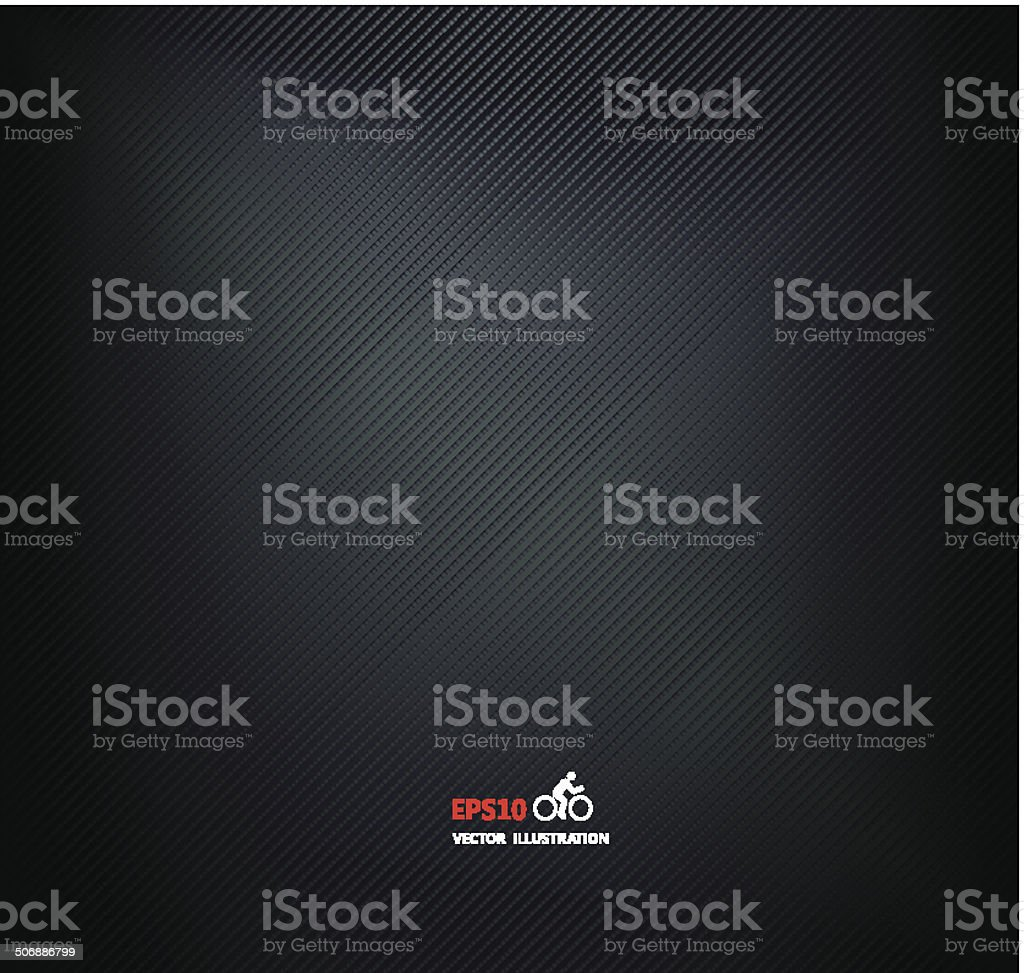 Vector carbon metallic, background texture vector art illustration