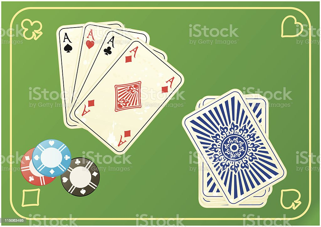 vector cards royalty-free stock vector art