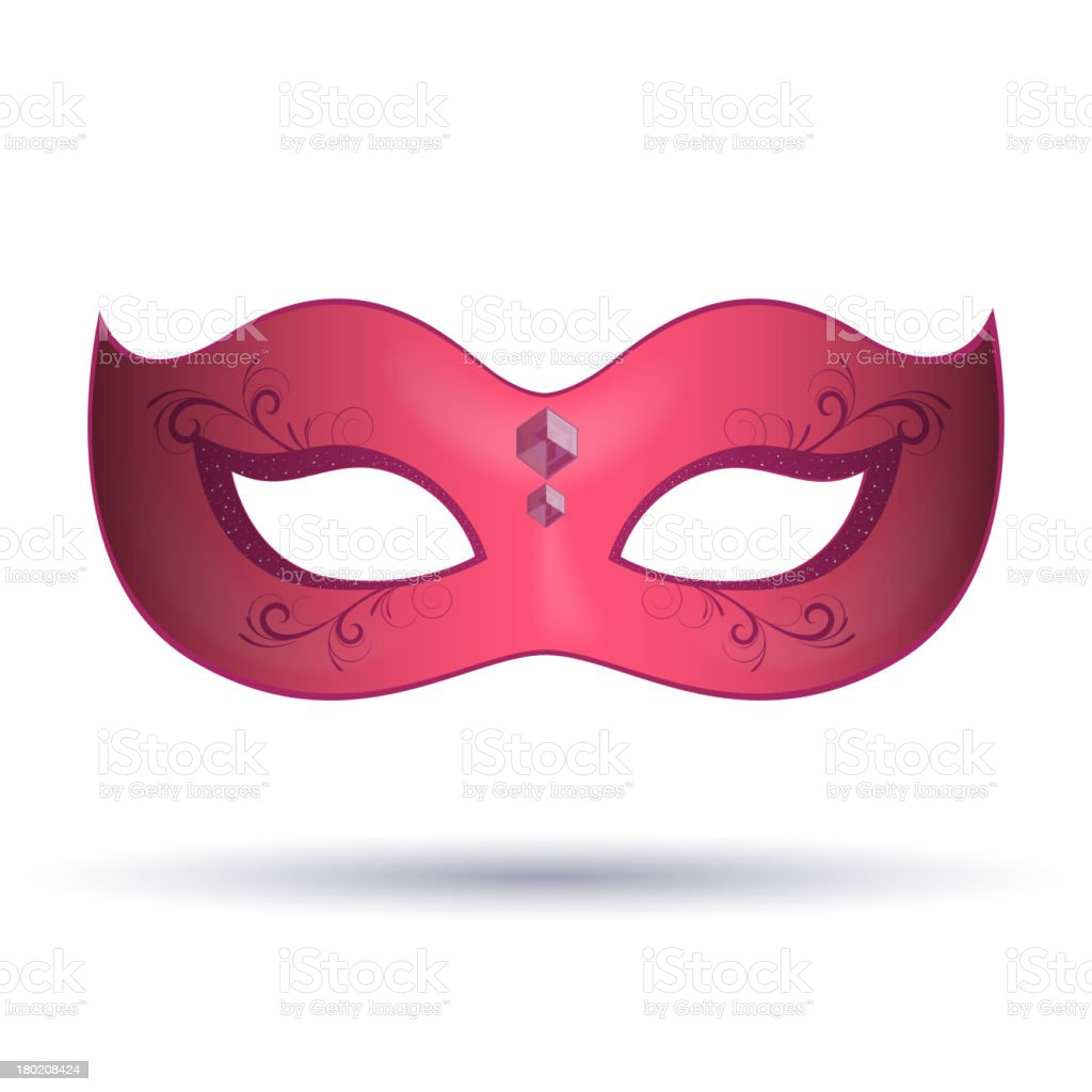 Vector Carnival Mask royalty-free stock vector art