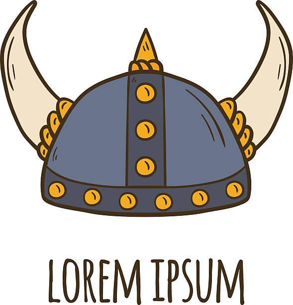 Viking Helmet Clip Art, Vector Images & Illustrations - iStock