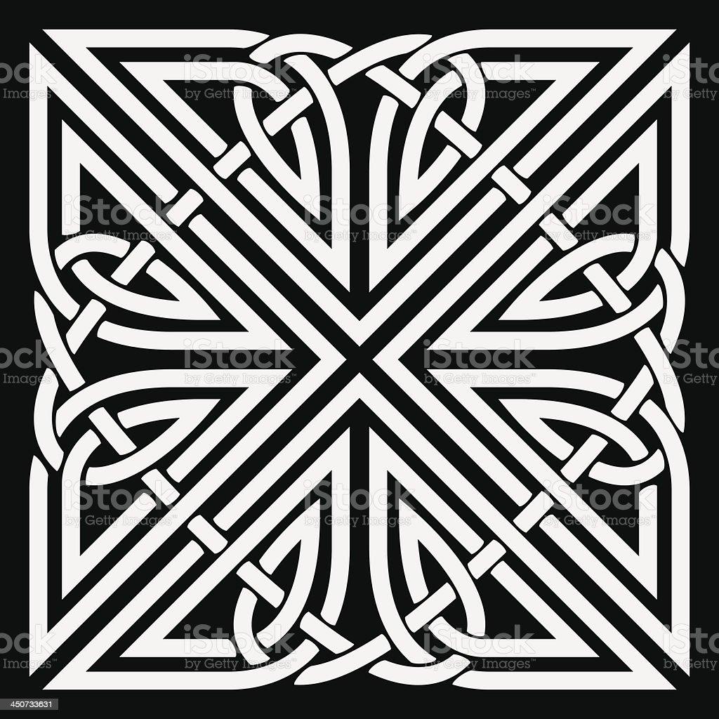 Vector celtic ornament royalty-free stock vector art