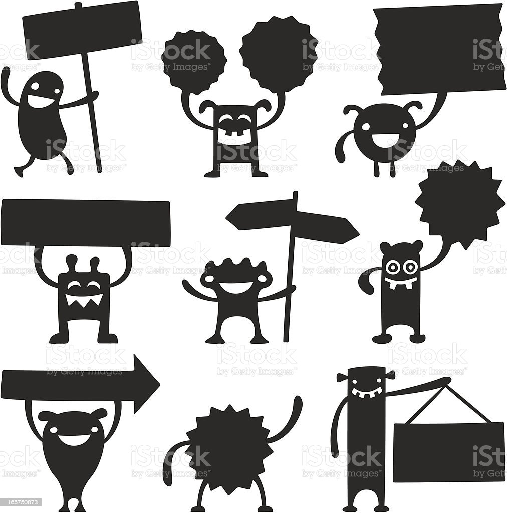 Vector Characters royalty-free stock vector art