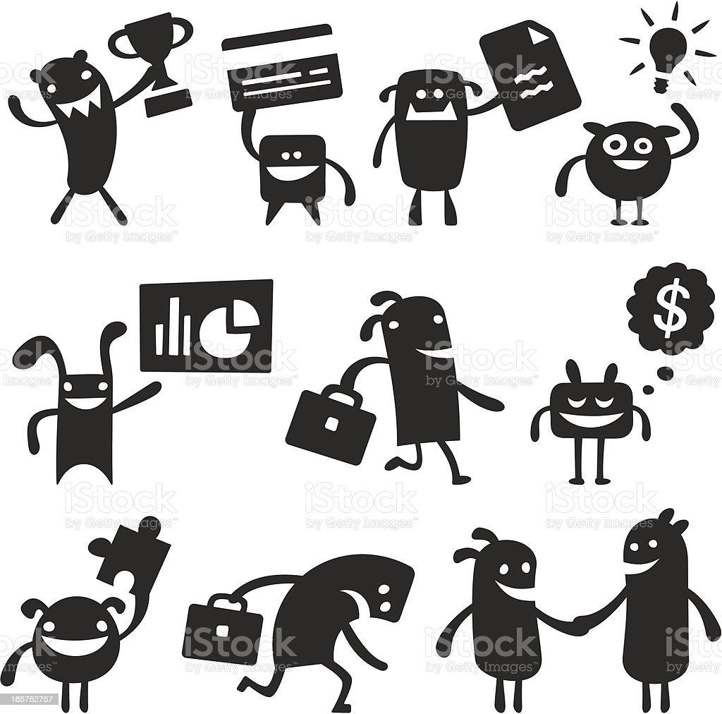 Vector Characters royalty-free stock vector art
