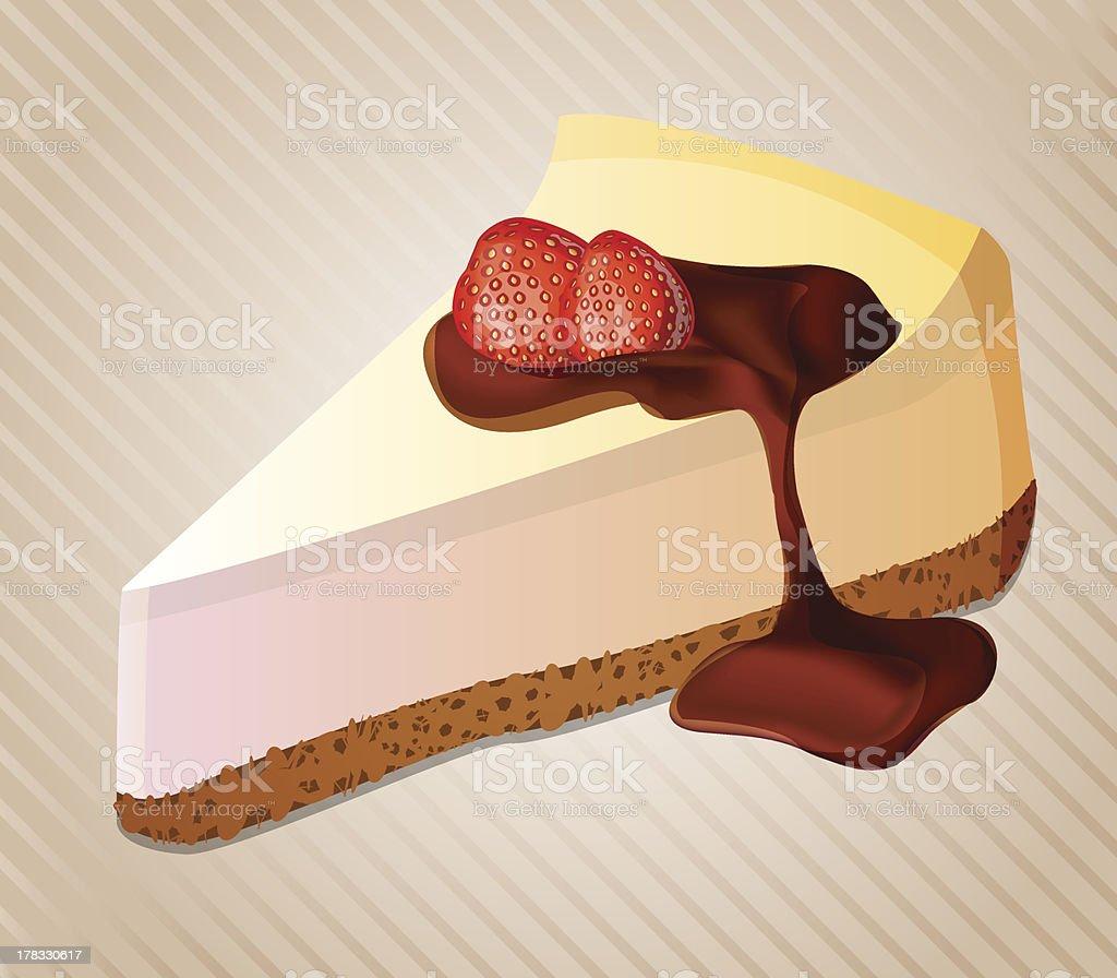 vector cheesecake royalty-free stock vector art