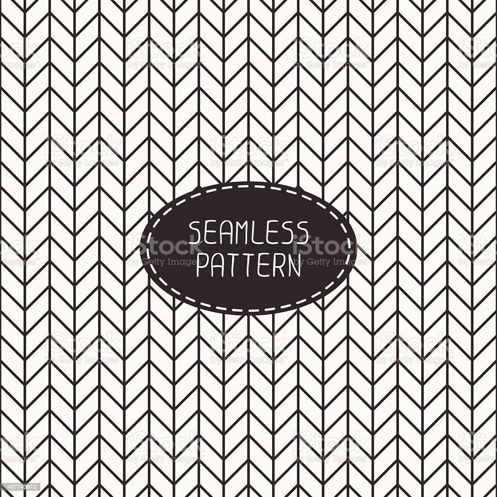 Vector chevron zigzag stripes geometric seamless pattern. Paper for scrapbook. vector art illustration